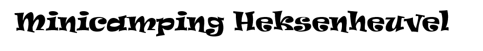Minicamping Heksenheuvel